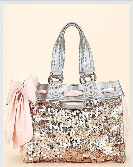 bag handbag juicy couture daydreamer sequin
