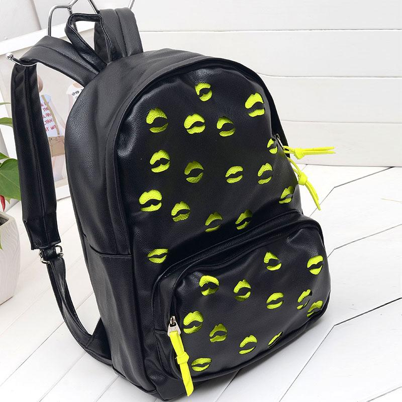 New arrival 2013 backpack cutout student backpack bag vintage color block double sided women's handbag-inBackpacks from Luggage & Bags on Aliexpress.com