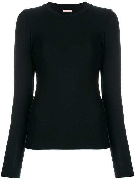 Henrik Vibskov blouse long women spandex black top