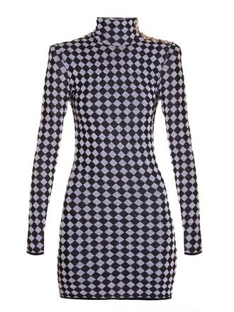 dress mini dress mini knit high white black
