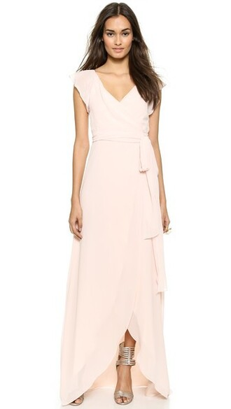 dress wrap dress ruffle