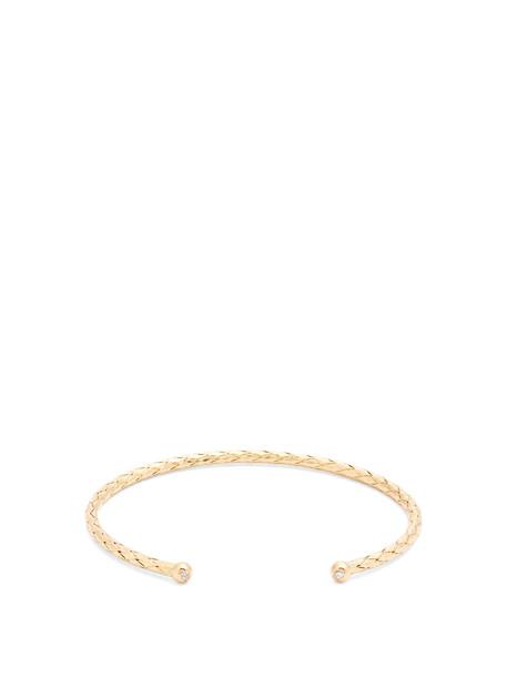Bottega Veneta cuff gold jewels