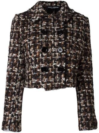 jacket women spandex mohair black wool