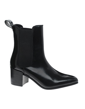 ASOS | ASOS APPRISE Leather Chelsea Point Ankle Boots at ASOS