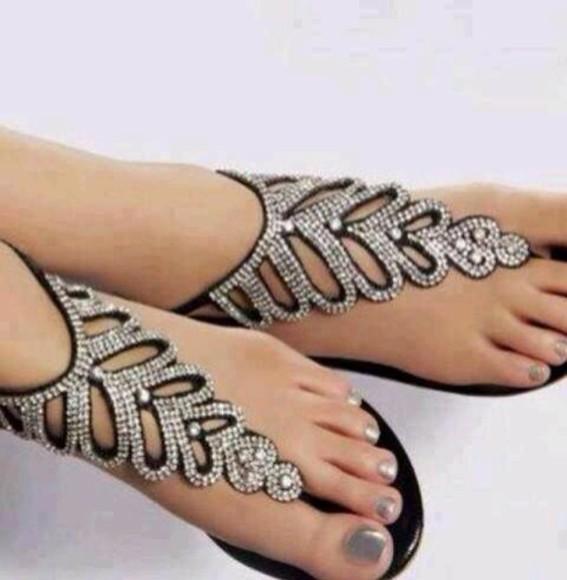 jewels fancy sandels