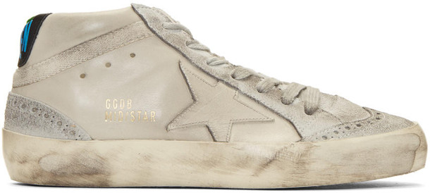 Golden goose sneakers taupe shoes