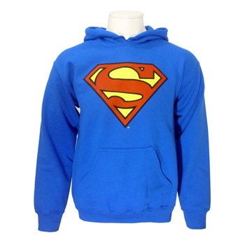 Superman Hoodie blue - Rock Collection