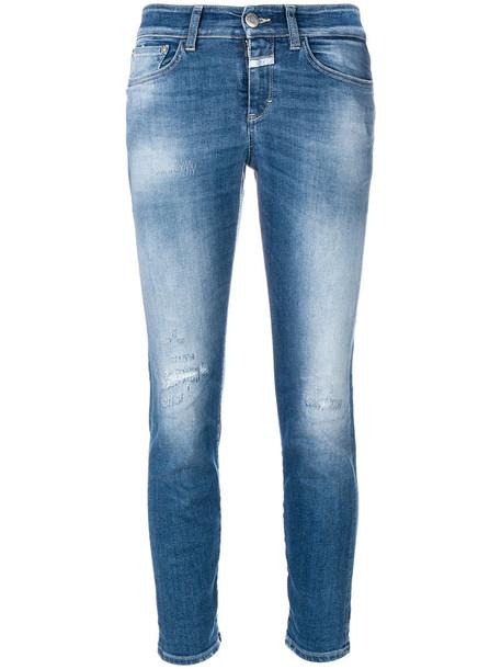 Closed jeans women spandex cotton blue 24