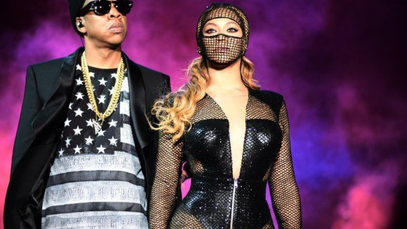 Jay Z beyoncé hair accessories on the run mask mesh ski