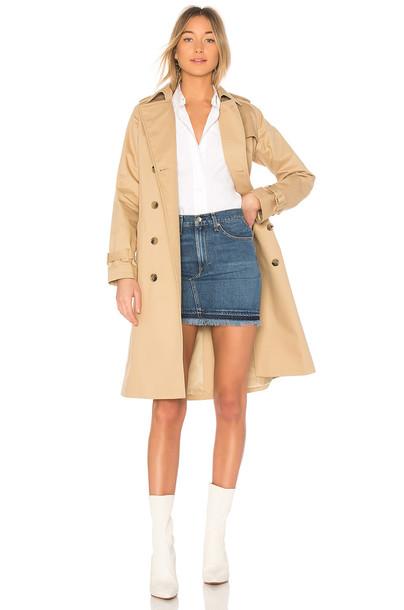 A.P.C. tan coat