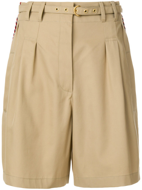Philosophy di Lorenzo Serafini shorts high women nude cotton