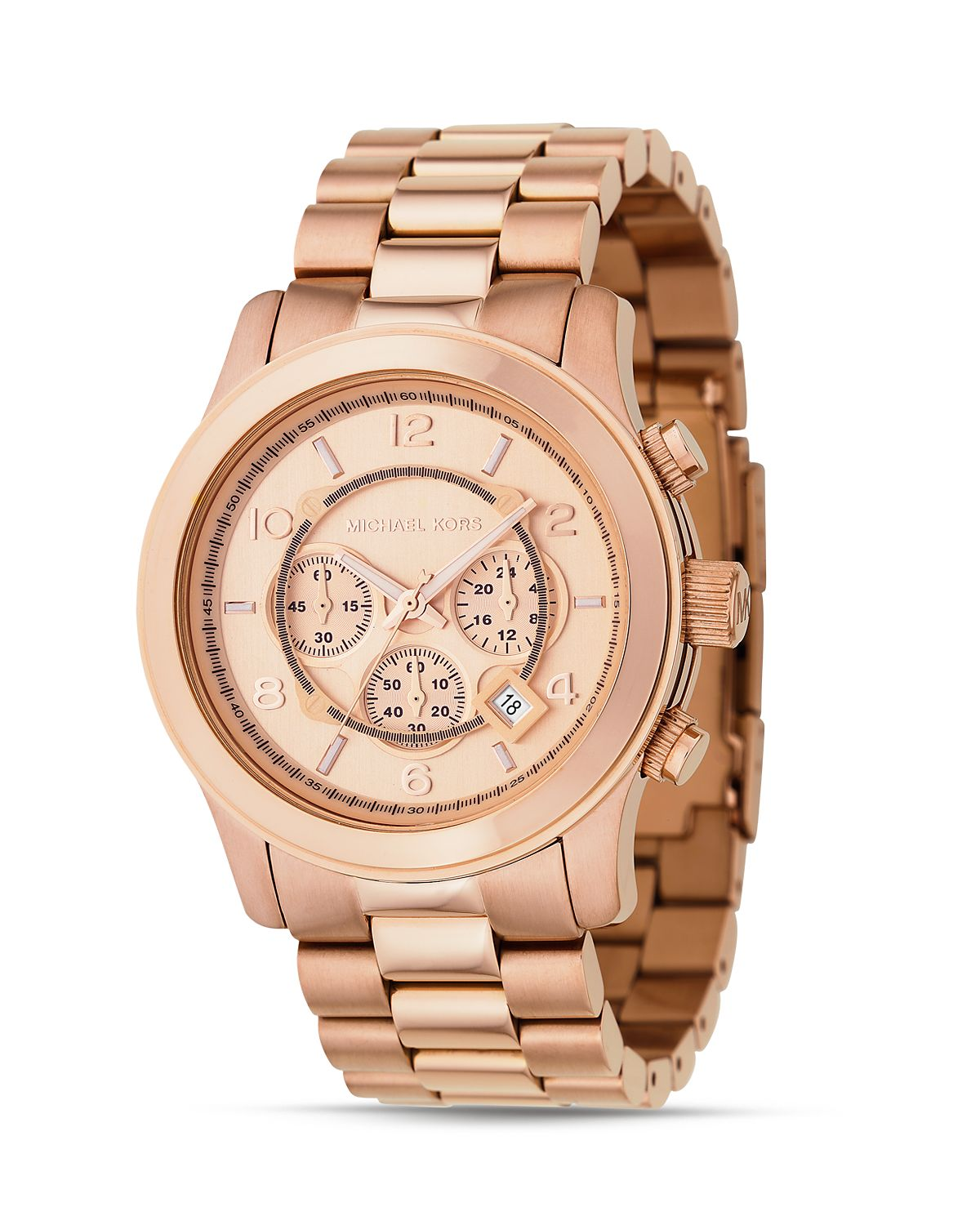 "Michael Kors Large ""Runway"" Watch, 45mm 