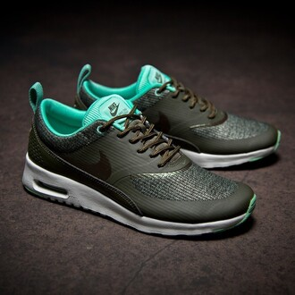 shoes nike air max nike air max thea nike shoes khaki