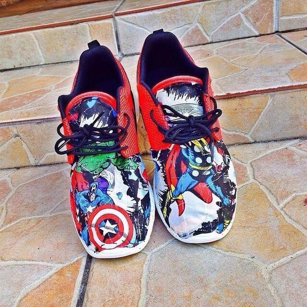 Nike roshe run aquatic fish aquarium custom mens by nycustoms for Fish shoes nike