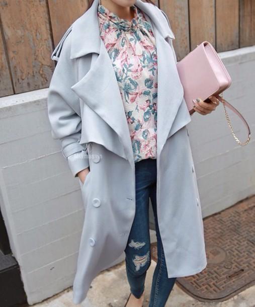 blouse jacket bag pants