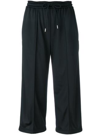 pants cropped women black