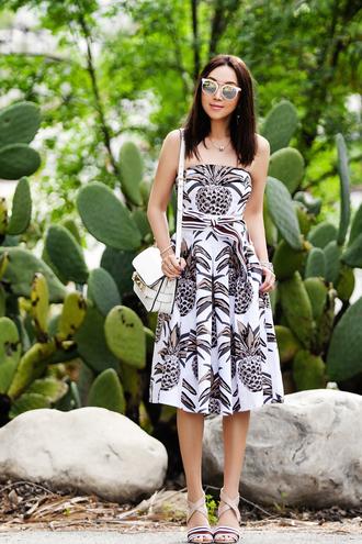 fit fab fun mom blogger dress skirt belt shoes bag sunglasses jewels shoulder bag sandals midi dress spring outfits summer dress