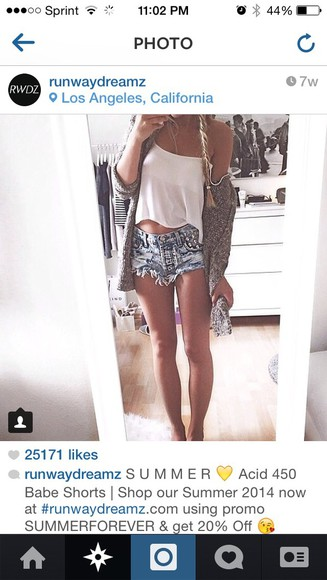 studs High waisted shorts distressed denim shorts