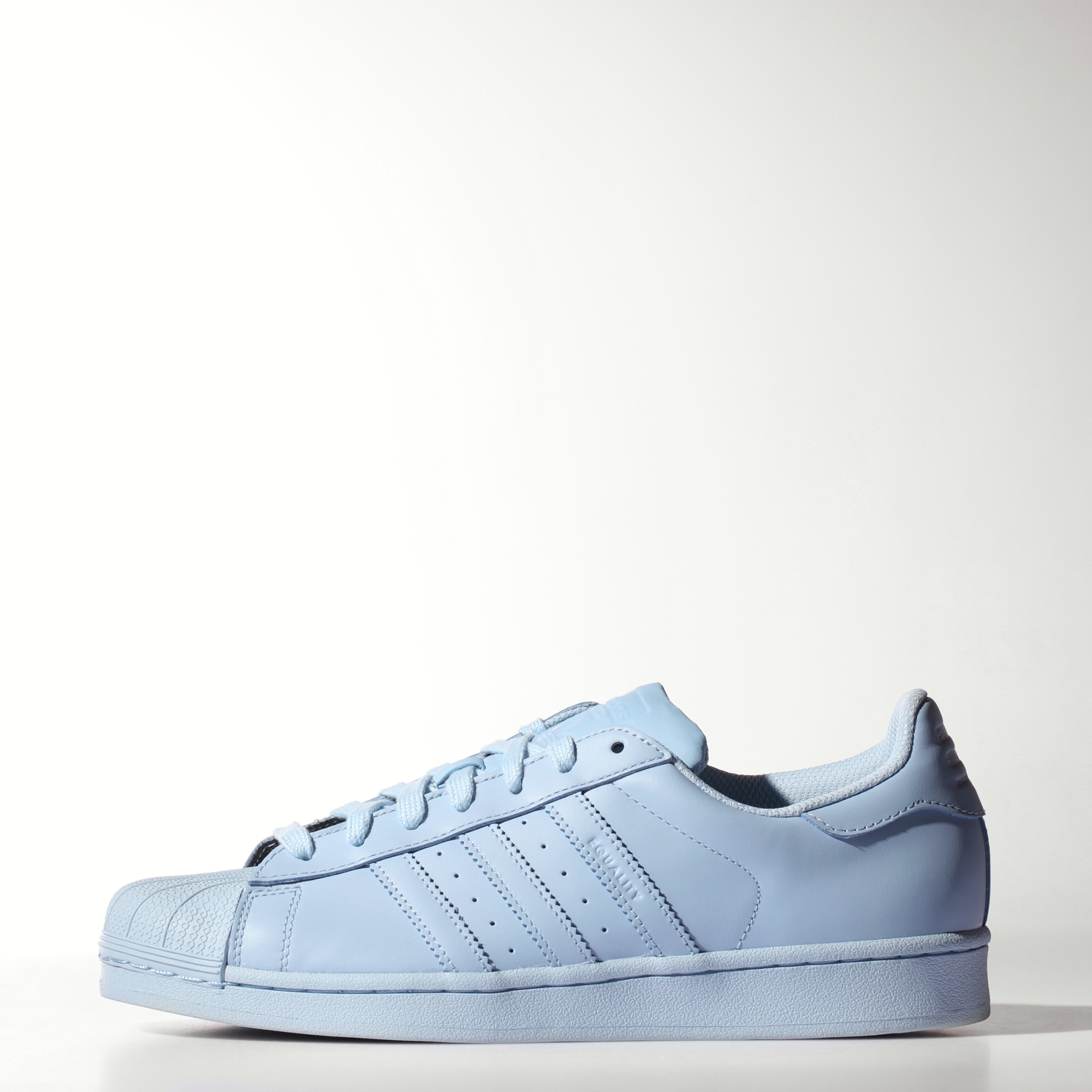 adidas Superstar Light Blue White BY3716