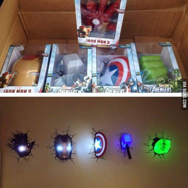 Avengers Wall Lamps Target : avengers night light at Target