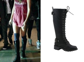 shoes malia boots teen wolf military style military boots