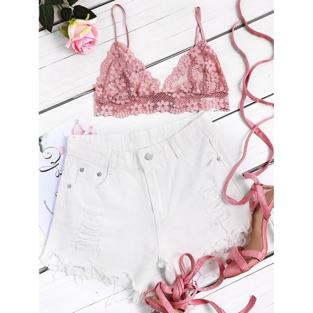 tank top women bra braided bracelet brallete lace top womenfashion