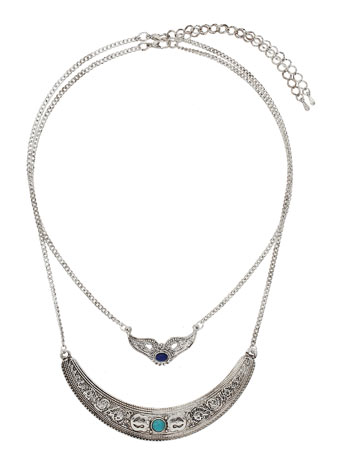 Ethnic Multi Row Necklace - Jewellery - Accessories - Miss Selfridge