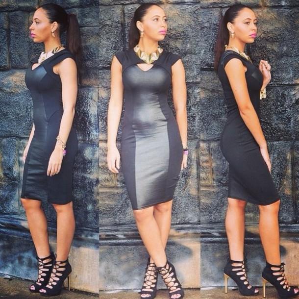 dress little black dress prom dress sexy party dresses celebrity style bodycon midi dress