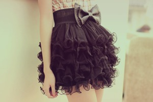 skirt black skirt black skirt with bow black bow skirt ruffles black skirt with ruffles bow black bow