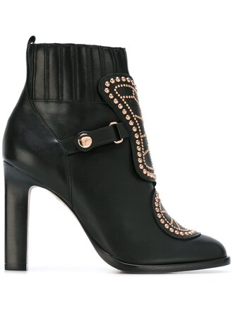 butterfly boots ankle boots black shoes
