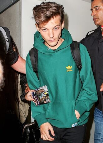 adidas one direction mens hoodie mens sweater top green louis tomlinson green sweater adidas sweater hoodie sweatshirt dark green menswear sweater jacket green hoodie adidas originals coat louis tomlinson green hoodie louis tomlinson sweater khaki