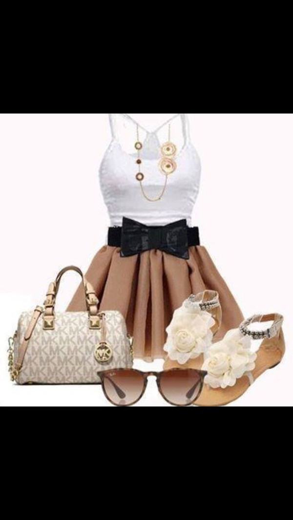 bag shoes sunglasses dress