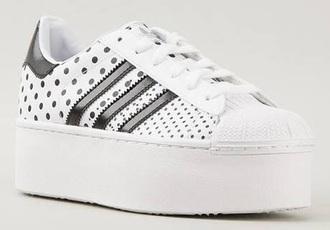 adidas superstars adidas polka dots creepers adidas originals adidas shoes