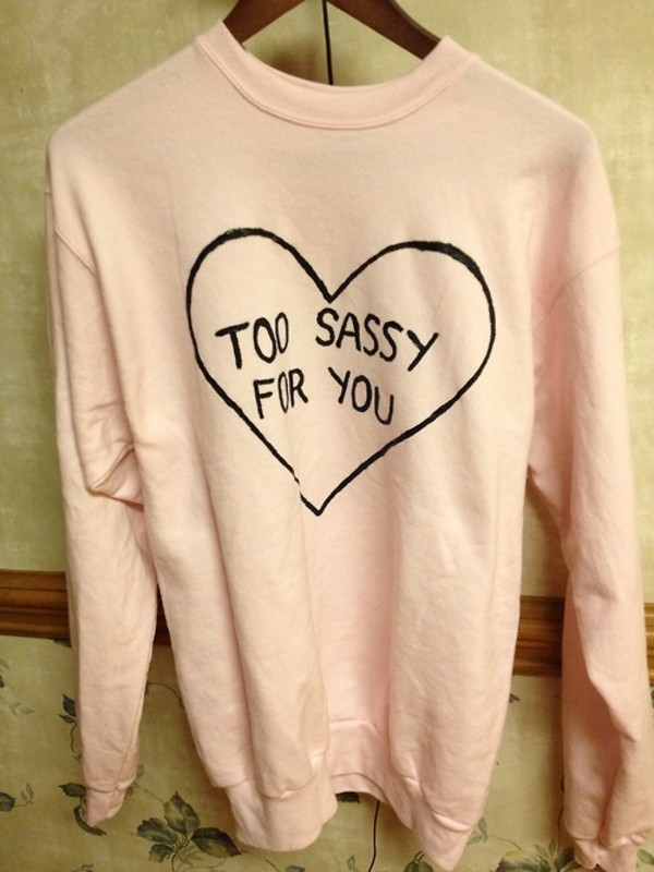 sweater sassy pink jacket girly fall sweater