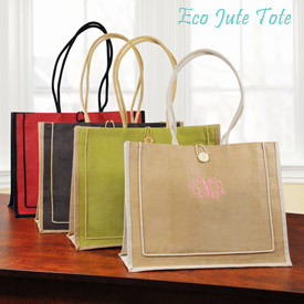 Eco Chic Jute Tote - Sincerity Weddings