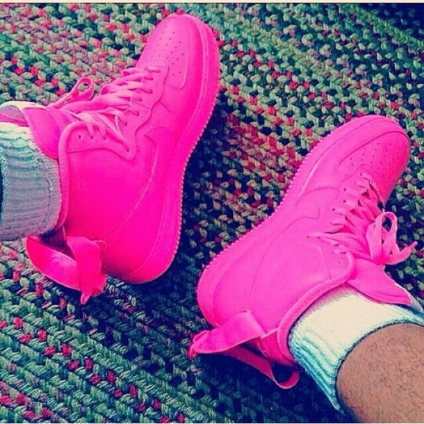 shoes nike air force 1 nike air force 1 nike air force 1 sneakers pink  custom be3524112