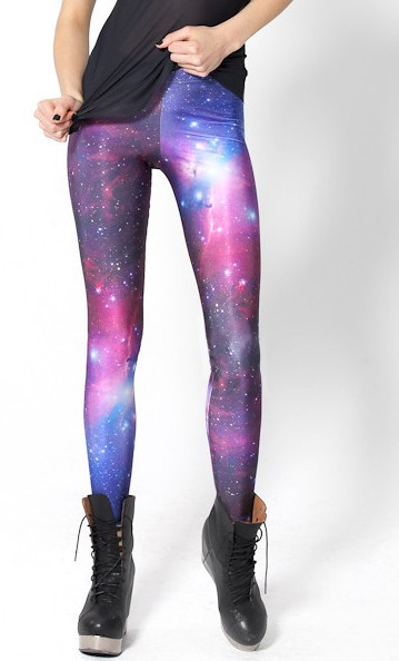 Sp 030 women galaxy tie dye leggings,black black milk reflective leggings plus size xs m l xl free shipping