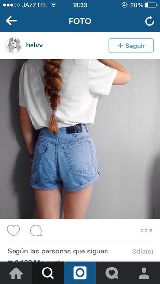shorts denim shorts jeans denim beautiful high waisted denim shorts high waisted shorts fashion instagram