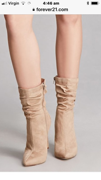 shoes slouch boots