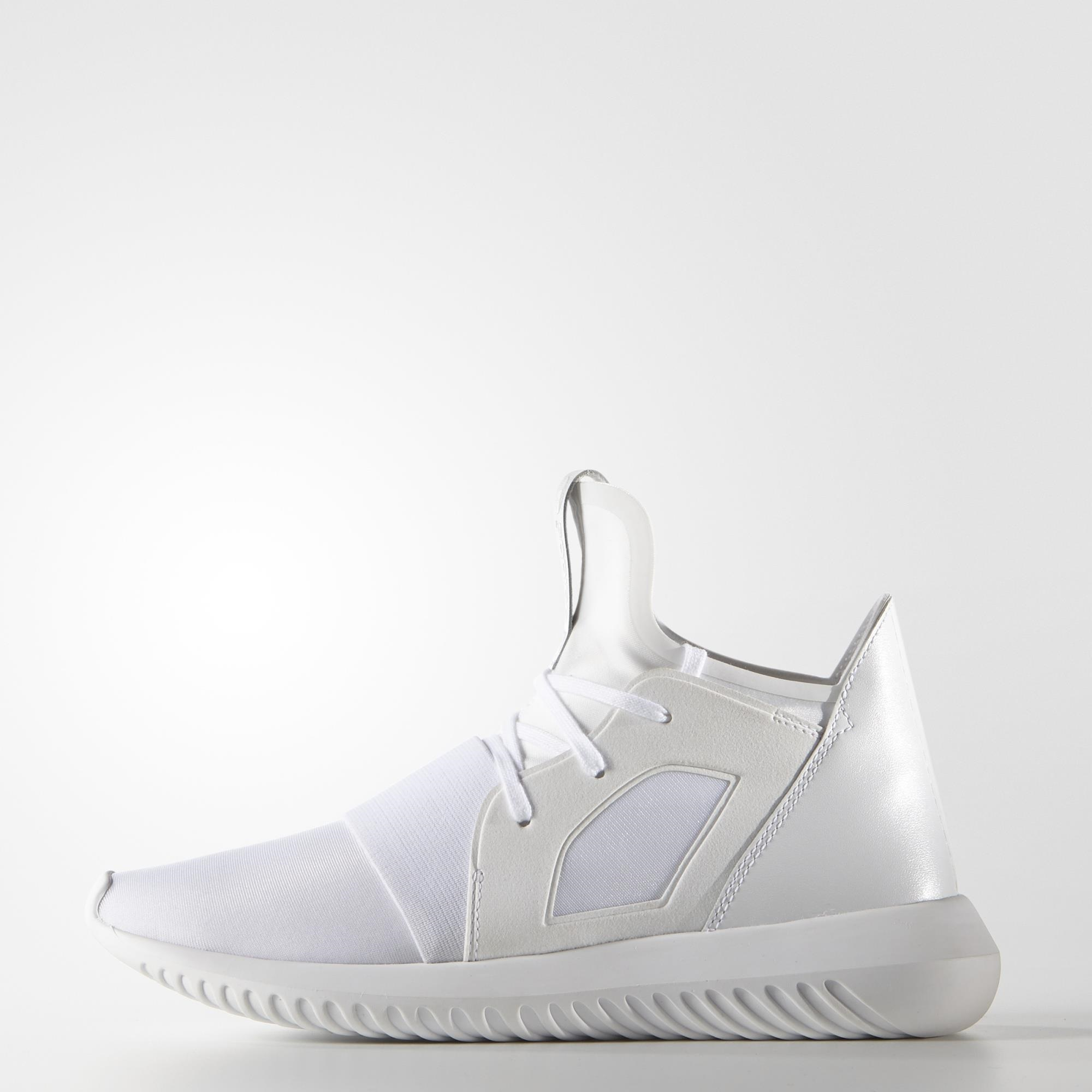 Adidas Tubular White And Shiny