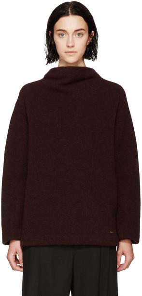 Dsquared2 sweater burgundy