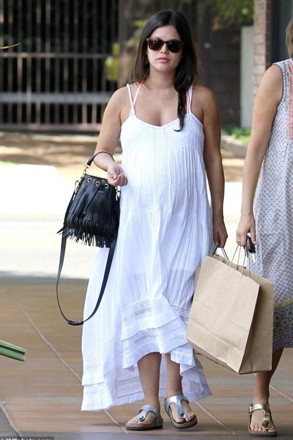bag dress maternity dress rachel bilson summer outfits maternity