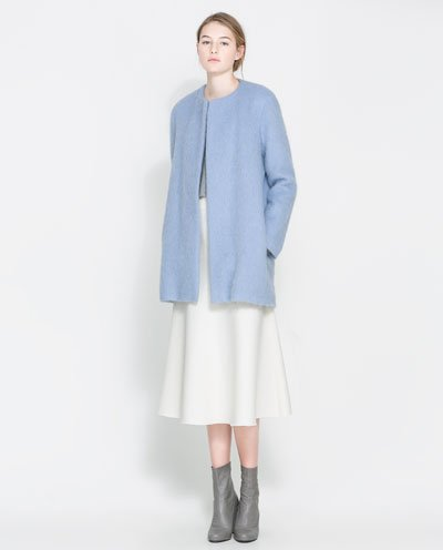 Fancy - Zara Mohair Coat