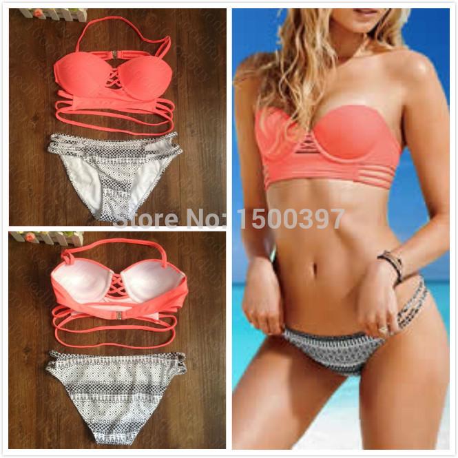 Aliexpress.com : buy 2015 sexy swimwear for women,push up retro swimsuit traingle bikini with strappy,size sml,free shipping from reliable bikinis set suppliers on igoodbuy