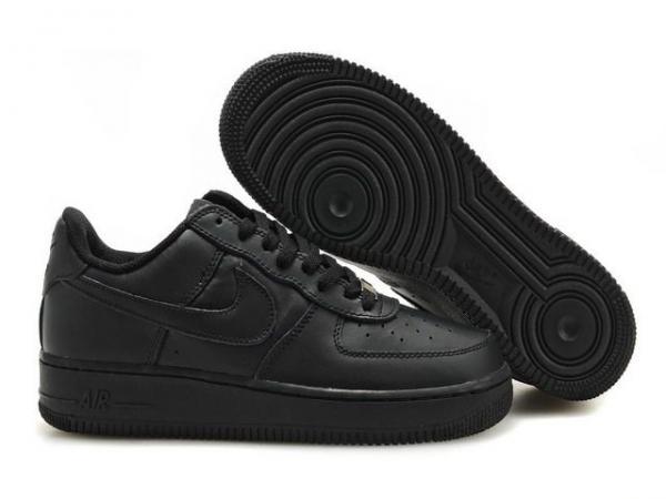 air force 1 shoes black