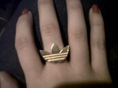 ring,gold,adidas,jewels