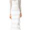 Self portrait primrose gown - white