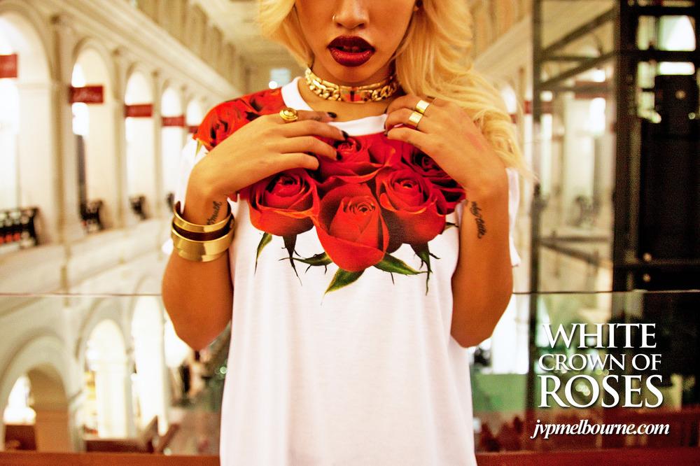 The crown of roses tee — jvp melbourne
