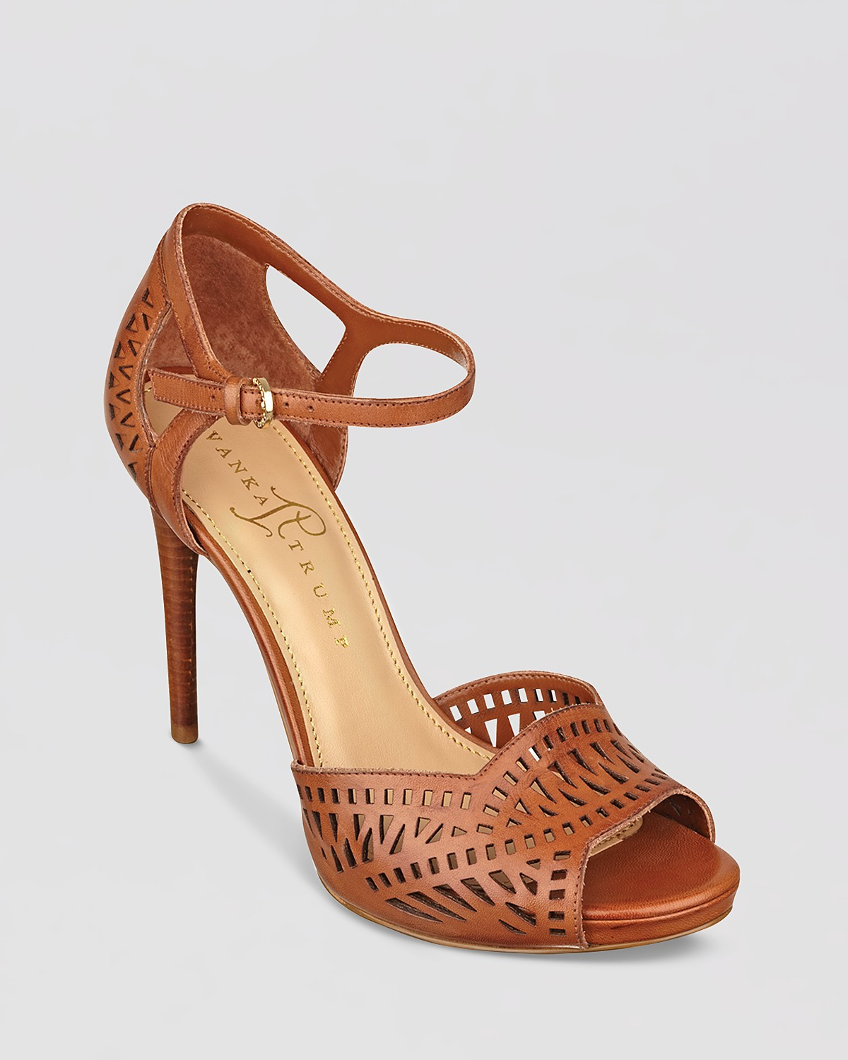 IVANKA TRUMP Ankle Strap Pumps - Ariell High Heel | Bloomingdale's
