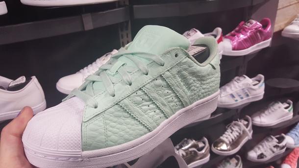 shoes adidas vert d'eau